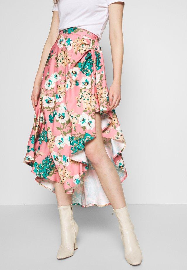 STYLE - A-snit nederdel/ A-formede nederdele - pink
