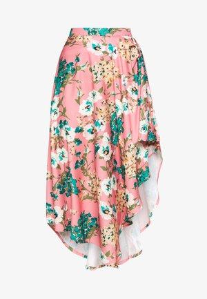STYLE - Áčková sukně - pink