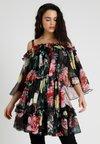 U Collection - Robe d'été - noir