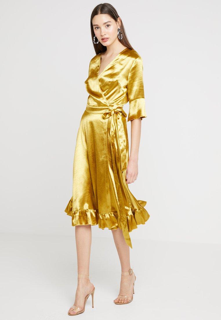 U Collection - Cocktailkleid/festliches Kleid - golden yellow