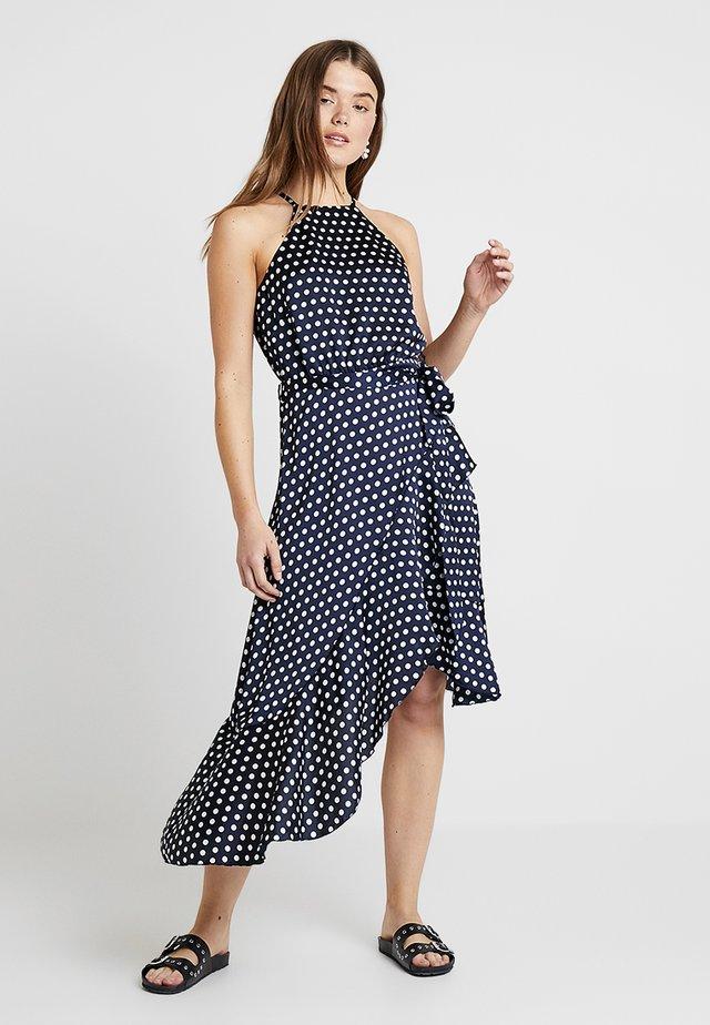 Day dress - navy/white