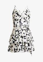 Sukienka koktajlowa - white/black