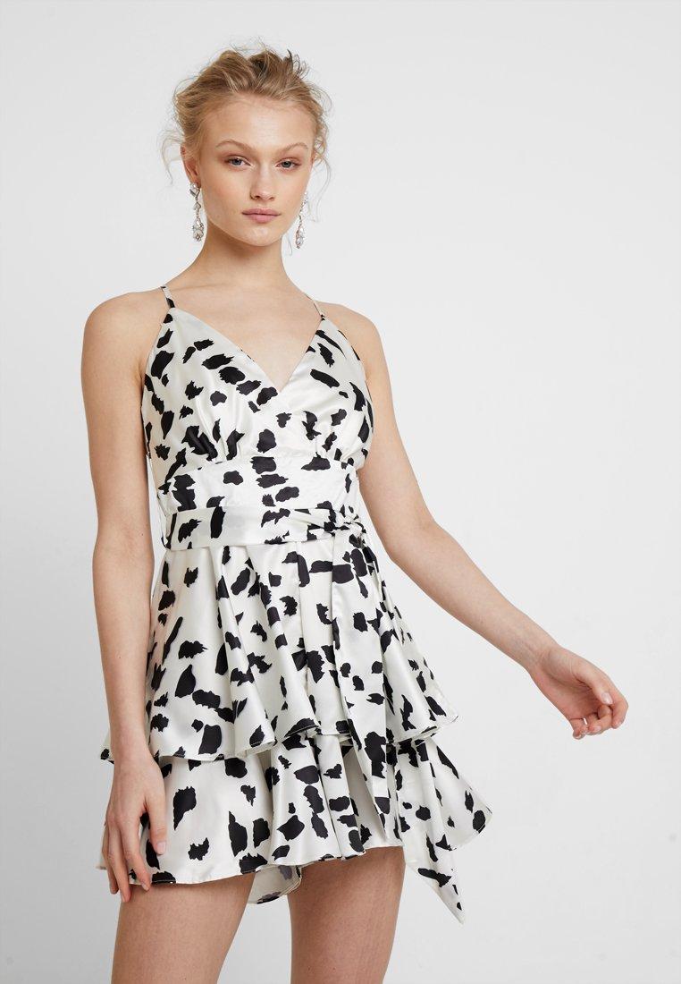 U Collection by Forever Unique - Vestito elegante - white/black