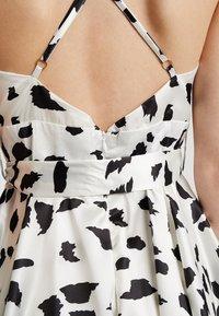U Collection by Forever Unique - Vestito elegante - white/black - 6