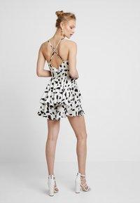 U Collection by Forever Unique - Vestito elegante - white/black - 2