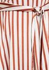 U Collection - Maxi dress - brown/white