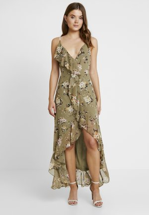 FLORAL DRESS - Maxi šaty - green