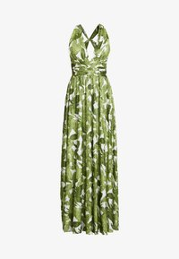 U Collection - PALM DRESS - Maxi dress - white and green - 4