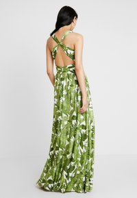 U Collection - PALM DRESS - Maxi dress - white and green - 2