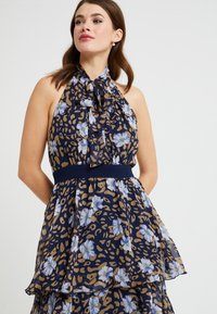 U Collection by Forever Unique - Robe longue - navy