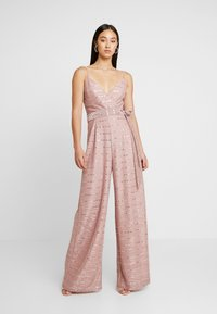 U Collection by Forever Unique - Jumpsuit - pink - 1