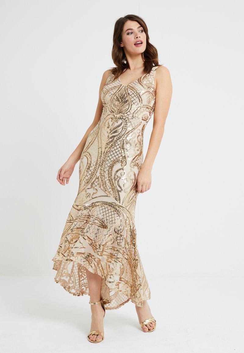 U Collection - Vestido de fiesta - gold