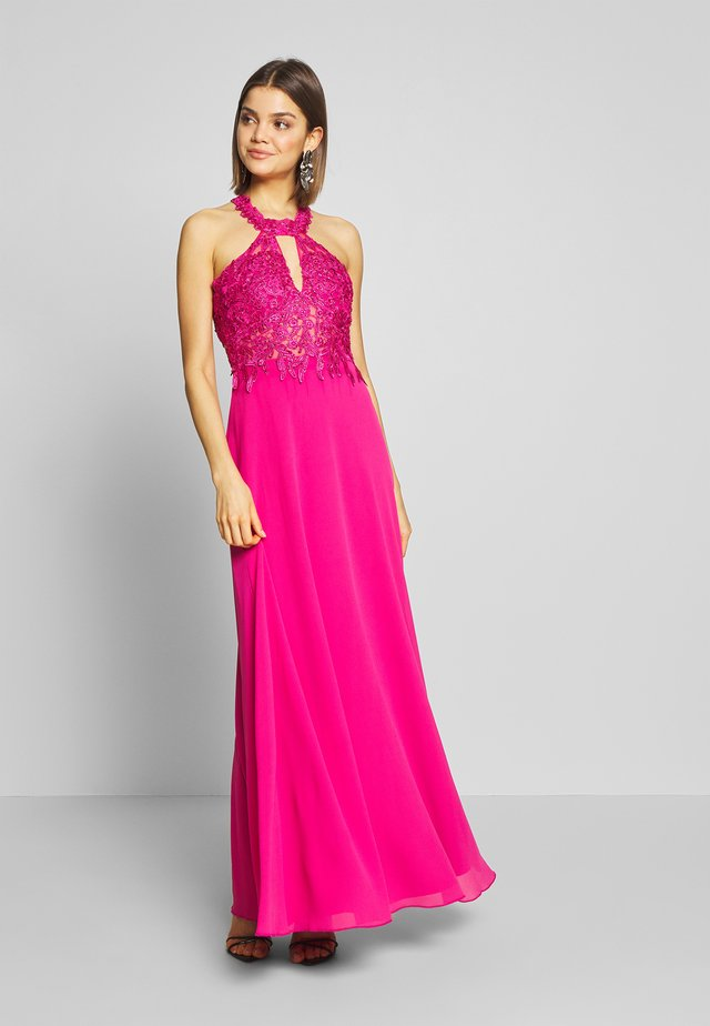 Occasion wear - raspberry
