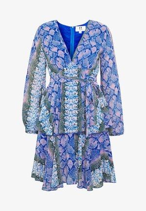 Denní šaty - blue/pink