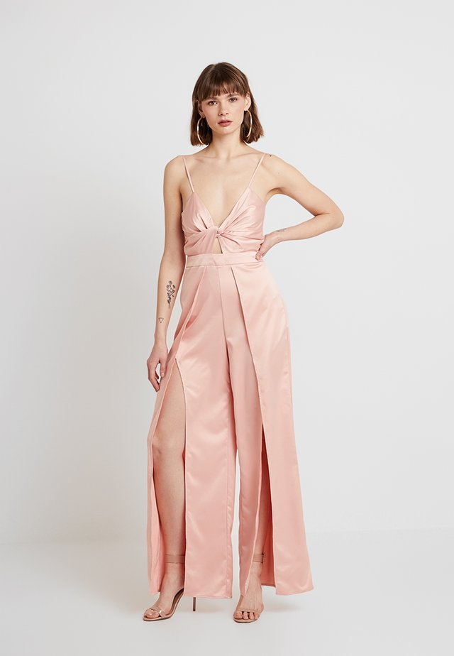 Overall / Jumpsuit /Buksedragter - rose gold