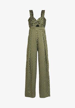SPOT - Jumpsuit - green/white