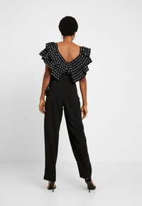 U Collection by Forever Unique - Overall / Jumpsuit /Buksedragter - black/white - 2