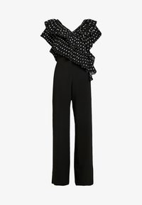 U Collection by Forever Unique - Overall / Jumpsuit /Buksedragter - black/white - 5
