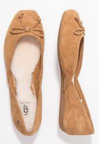 UGG - LENA FLAT - Ballet pumps - chestnut - 3