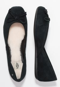 UGG - LENA FLAT - Ballet pumps - black