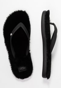 UGG - FLUFFIE II - T-bar sandals - black