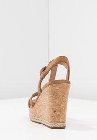 UGG - MELISSA - Sandalen met hoge hak - chestnut - 5