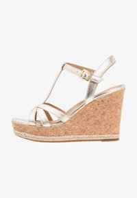 UGG - MELISSA METALLIC - High heeled sandals - gold - 1