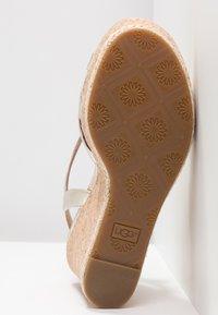 UGG - MELISSA METALLIC - High heeled sandals - gold - 6