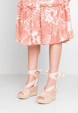 SHILOH - High heeled sandals - nude