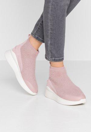 GRIFFITH - Sneakers hoog - pink crystal