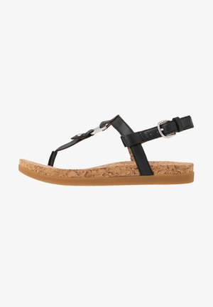 ALEIGH - T-bar sandals - black