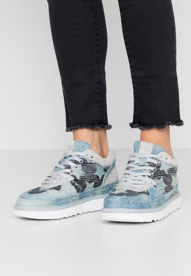 HIGHLAND - Sneakers laag - grey/violet