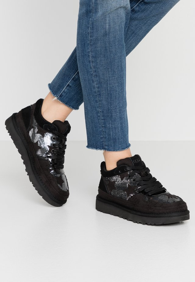 HIGHLAND - Trainers - black/silver