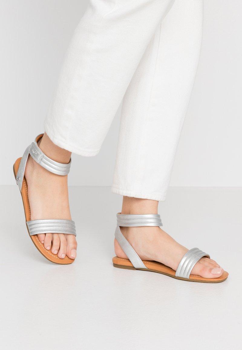 UGG - ETHENA - Sandals - silver