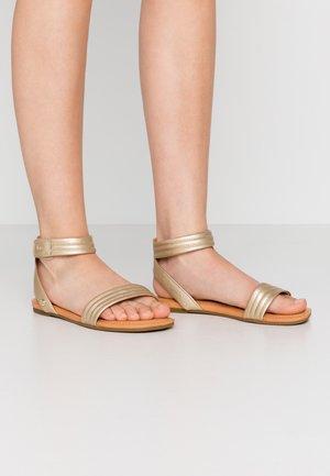 ETHENA - Sandalen - gold