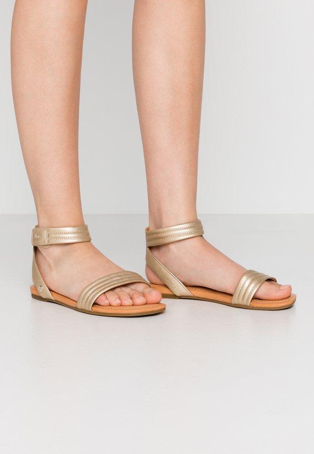 ETHENA - Sandals - gold