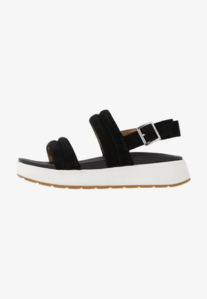LYNNDEN - Platform sandals - black