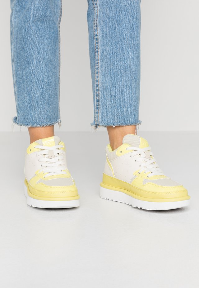 HIGHLAND - High-top trainers - yellow