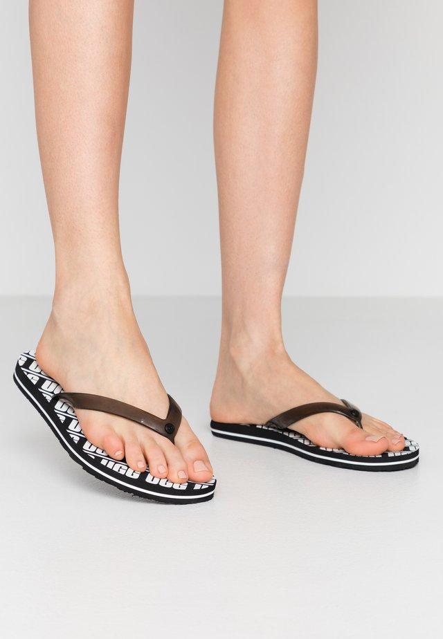 SIMI GRAPHIC - Pool shoes - black
