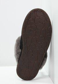 UGG - SCUFFETTE II - Slippers - black/grey - 4