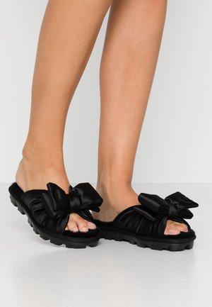 LUSHETTE PUFFER - Domácí obuv - black