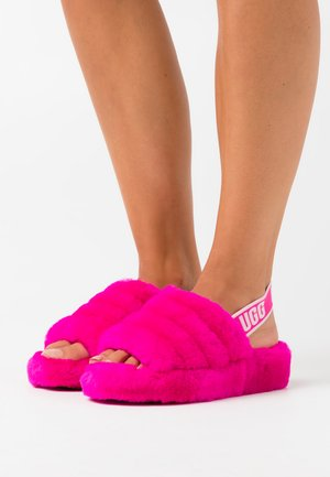 FLUFF YEAH - Slippers - rock rose