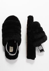 UGG - FLUFF YEAH - Pantoffels - black - 3