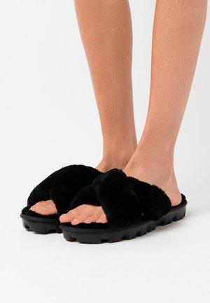 FUZZETTE - Chaussons - black