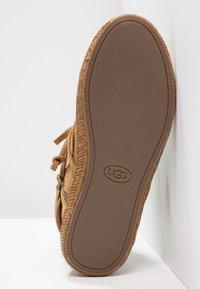 UGG - REID - Boots à talons - chestnut - 5