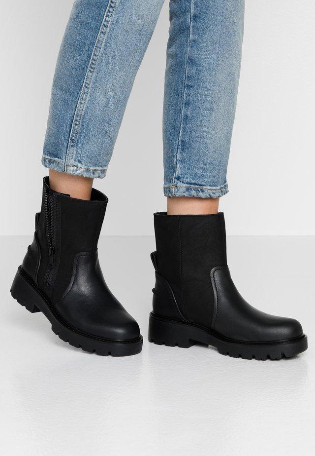 POLK - Korte laarzen - black