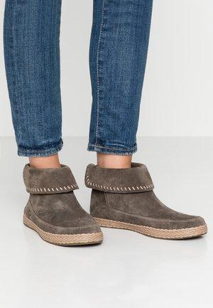 VARNEY - Boots à talons - slate