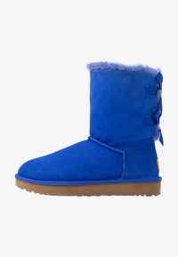 UGG - BAILEY BOW - Classic ankle boots - deep periwinkle - 1