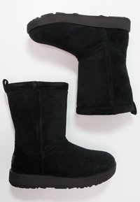 UGG - CLASSIC SHORT WATERPROOF - Stivaletti - black - 2