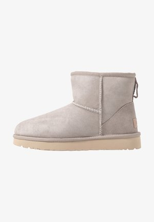 CLASSIC MINI II - Ankle boots - oyster/sesame